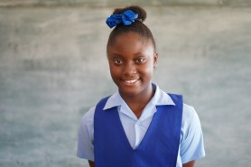 Ameisha Murphy gained 503 marks and was awarded a spot at St. Joseph High School.