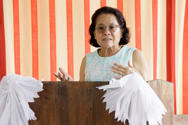 Her Excellency, Sandra Granger, First Lady of Guyana.