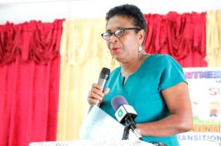 Transition Teacher, Ms. Acklima Pearce