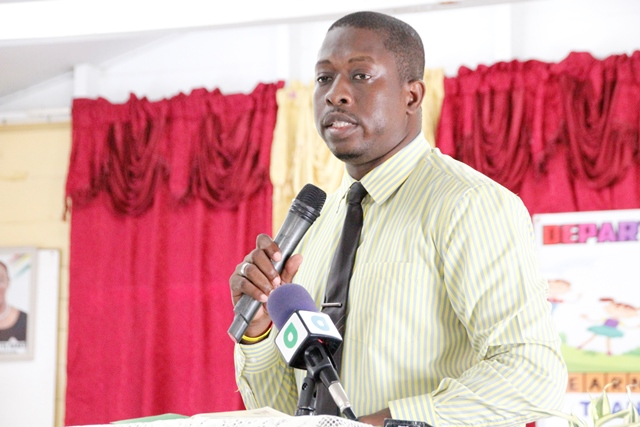 District Education Officer, Mr. Sherwyn Blackman