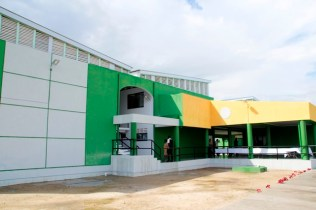 A view of the new Hinterland Students' Dormitory