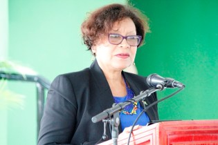 Minister within the Ministry of Indigenous People's Affairs, Hon. Garrido-Lowe
