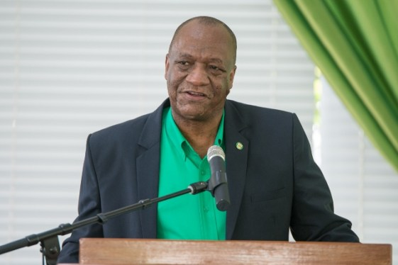 Director-General of the Ministry of the Presidency, Joseph Harmon.