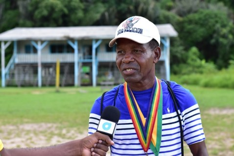 Guyana's lone medalist at the Olympics Michael Parris.