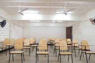 One of the classrooms at Annex II.