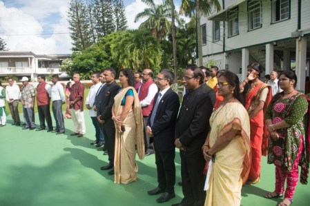 Scenes from India's 73rd Independence Anniversary at the Swami Vivekananda Cultural Centre.