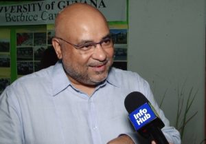 Professor Suresh Narine, Chairman and Executive Director of CGX (Guyana) Energy.