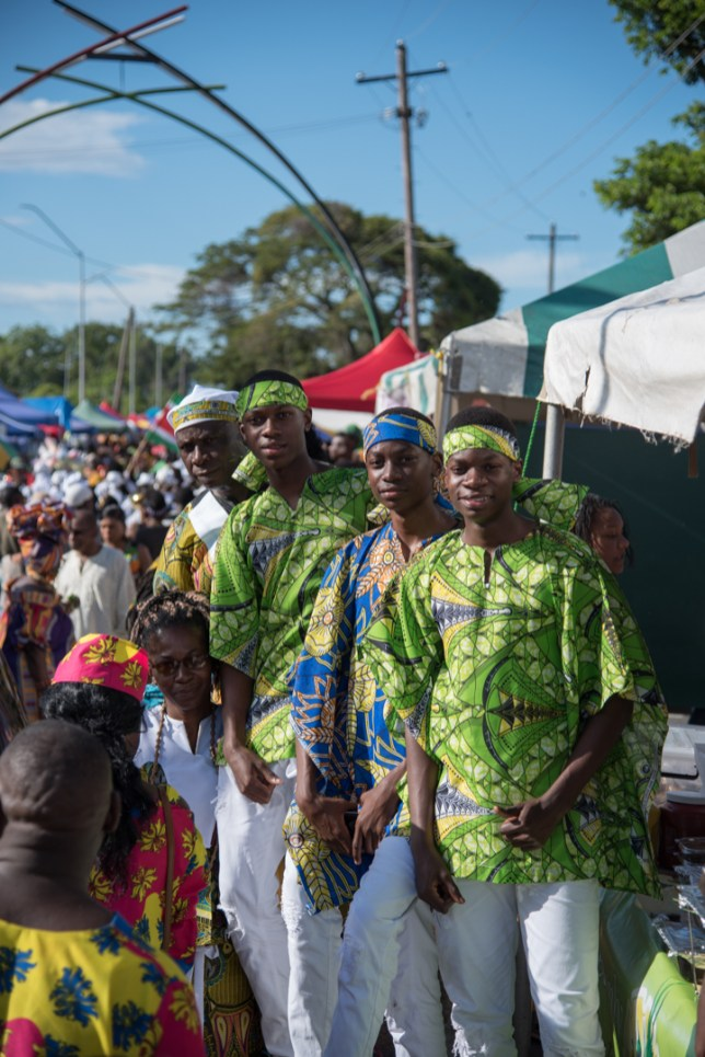 Scenes from the Emancipation Festival at the National Park