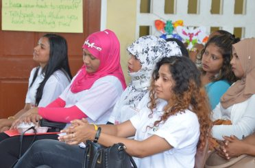 Some of the facilitators trained by Educators attached to GUTSY