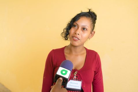 Youth participant from Chenapau, Marisa Albert