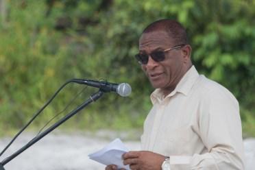 Technical Coordinator Community Development Council, Ministry of Communities, Eugene Gilbert
