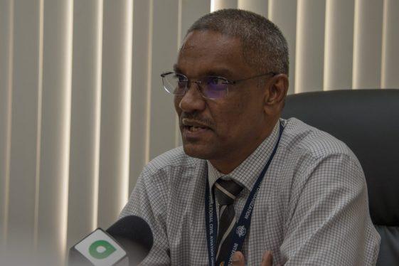 Director of Air Navigation Services (ANS) within Cheddi Jagan International Airport (CJIA), Rickford Samaroo