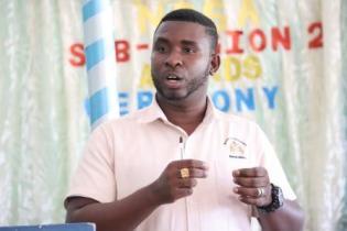 Deryck Collins, Regional Agricultural Officer for Upper Demerara-Berbice, Region 10.