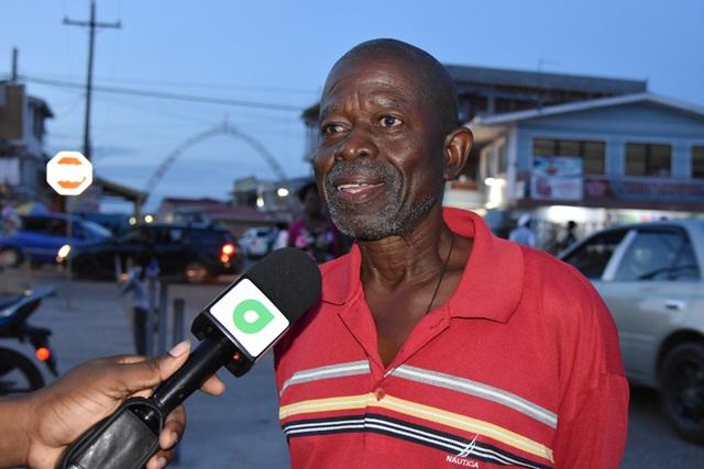 Food vendor, Kenneth Branco