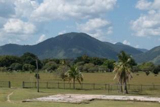 Pakaraima mountains that border Karasabai