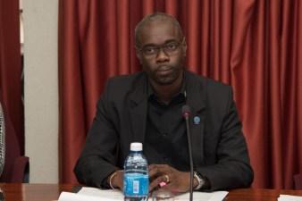 Deputy Permanent Secretary, of the Ministry of Public Health, Glendon Fogenay.