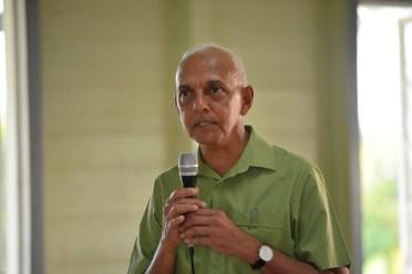 Minister of Communities, Hon. Ronald Bulkan.