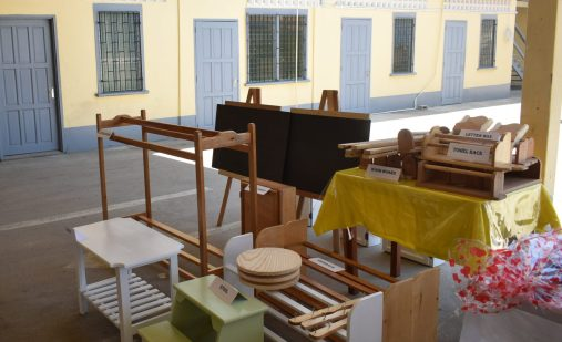 Some products from the joinery class