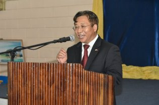 His Excellency Cui Jianchun, Ambassador of the People's Republic of China to the Cooperative Republic of Guyana.
