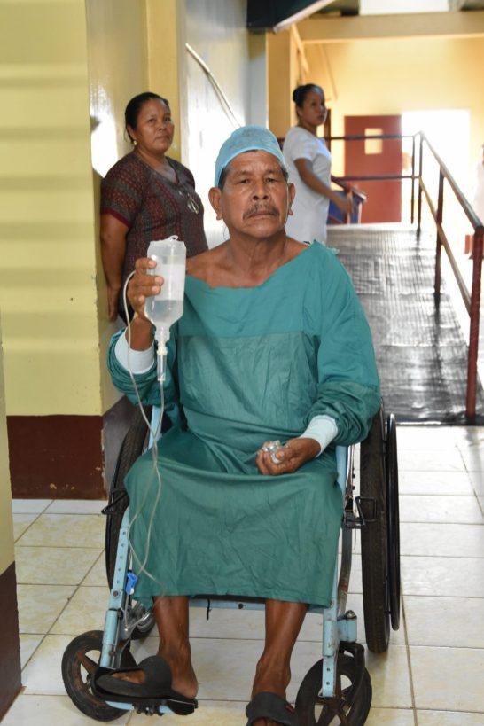 Raymond Romascindo, a pensioner from Moruca