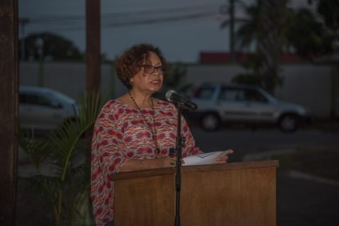 Minister within the Ministry of Indigenous Peoples' Affairs, Hon. Valerie Garrido-Lowe