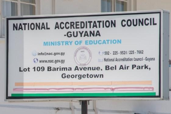 National Accreditation Council – Guyana.
