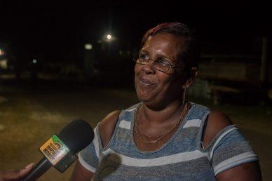 Resident of Leguan, Bibi Shazeela Ali
