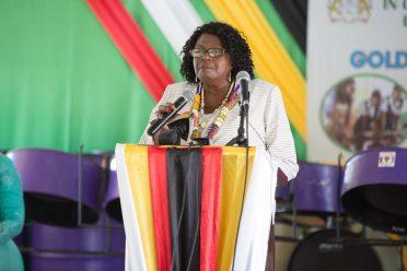 Region 4, Regional Chairman, Genevieve Allen.