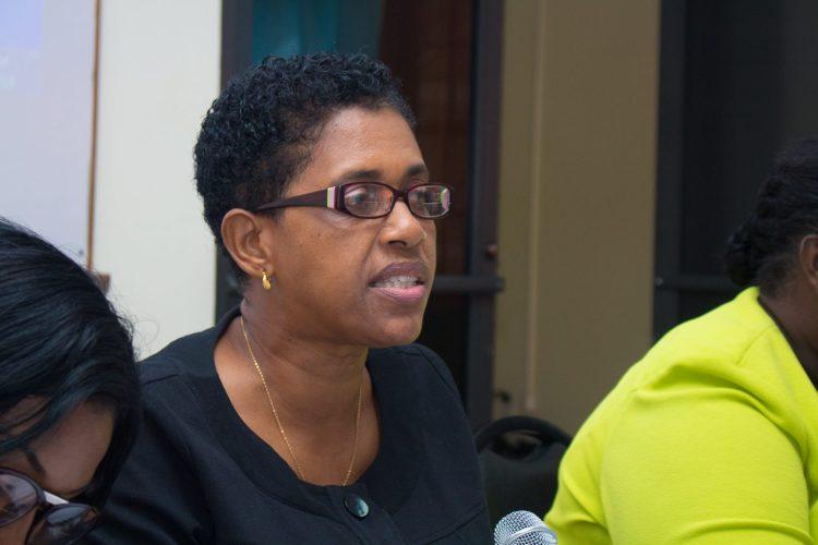 Chief Nursing Officer, Ministry of Public Health, Linda Johnson