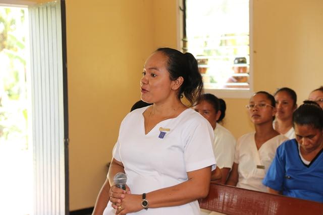 Nurse Eleini La Rose – Registered Nurse/Midwife, Kumaka District