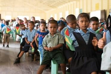 Paruima Primary School students.