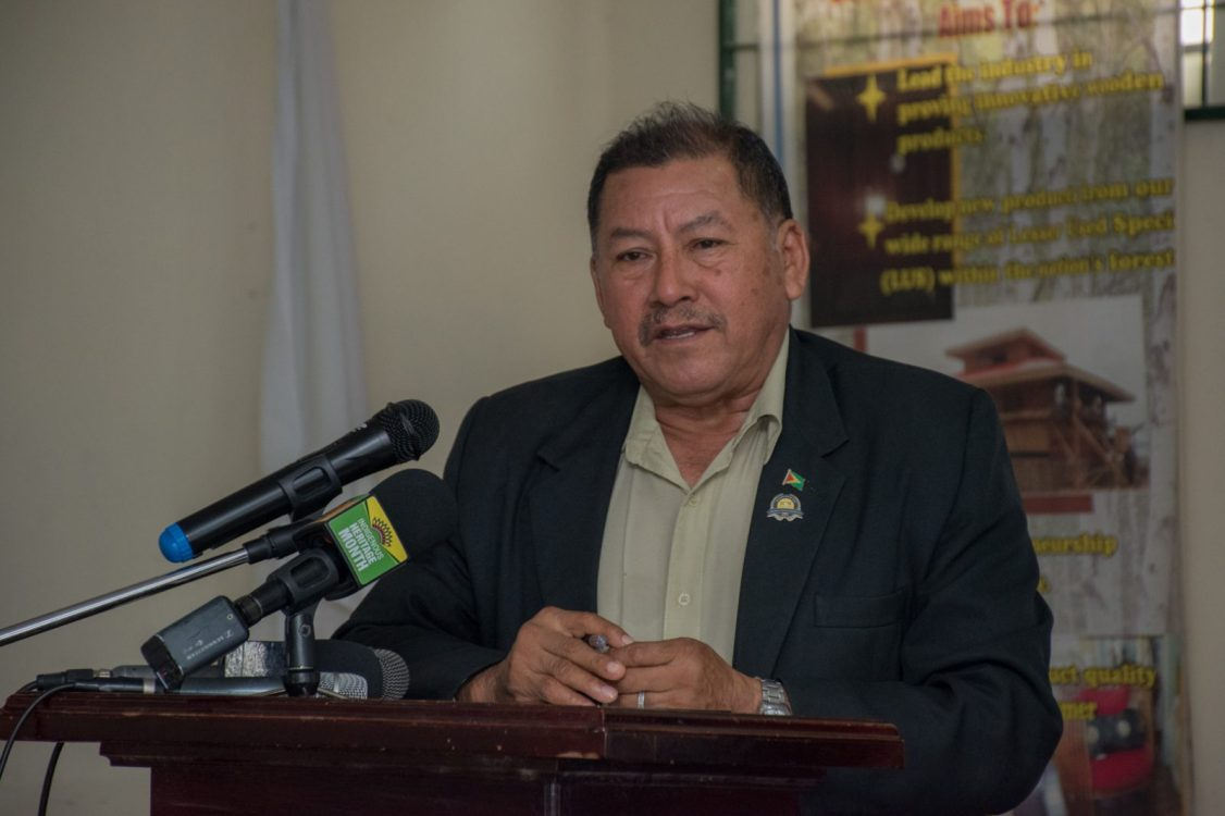Minister of Indigenous Peoples' Affairs, Hon. Sydney Allicock