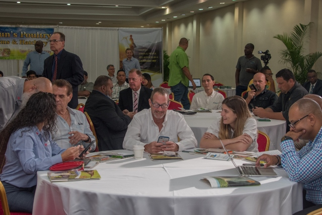 Delegates at the Caribbean Poultry Producers 6th Annual International Technical Symposium.