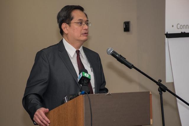 UNCTAD Economic Affairs Officer, Bismark Sitorus.