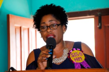 Head Teacher, Ms. Yvette Archer-Singh