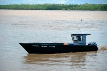 The Emergency response boat.