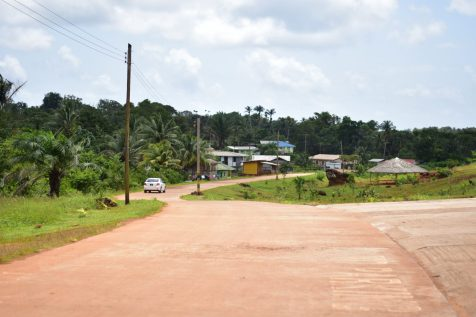 The Mabaruma road.