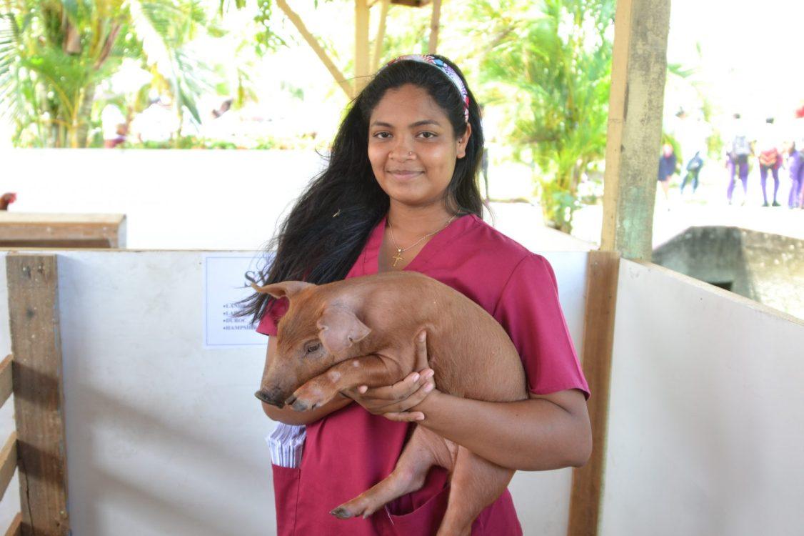 Christina Cheeks, a Veterinary Public Health Student, GSA.