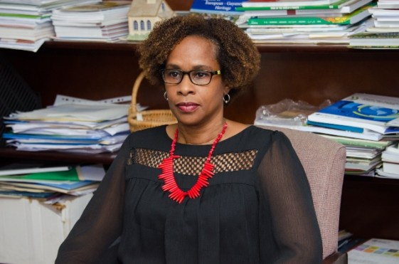 Country Representative for the FAO to Guyana, Dr. Gillian Smith.