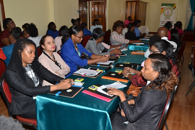 Section of participants at the Personnel (Human Resources) Practitioners Conference.