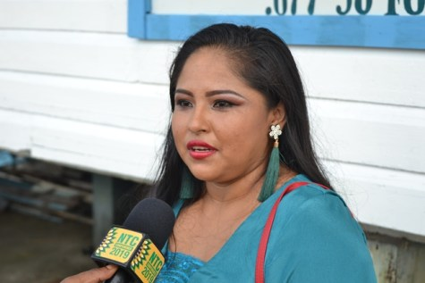 Clarita Isaacs, a BIT graduate.