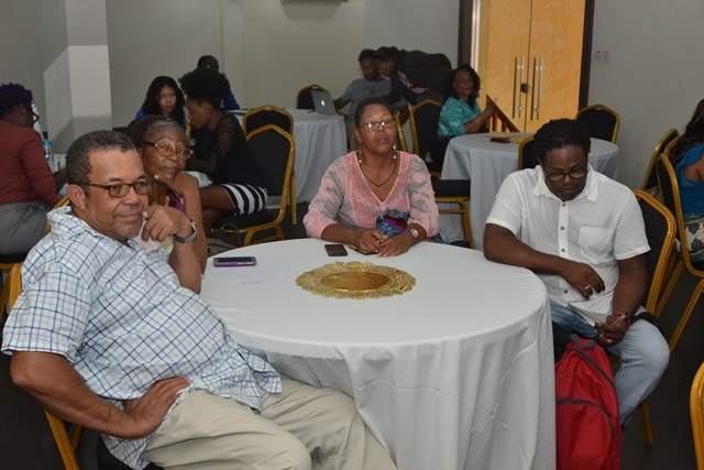 Stakeholders at the consultations