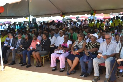 Patrons at the official ceremony held in observance of World Food Day 2019.