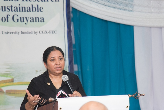 Dr Paloma Mohammed, Deputy Vice Chancellor of Philanthropy Alumni and Civic Engagement (PACE).