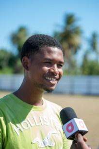 Anthony Samuels, President of the Victoria Youth Development Organization.
