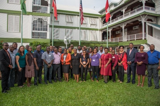 Participants and organisers of the recently concluded workshop