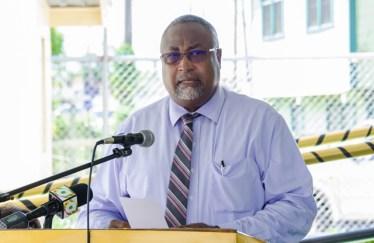 Rev. Dr. Murtland Raphael Massiah, Chairman of the Board of Director of the Guyana Post Office Corporation.