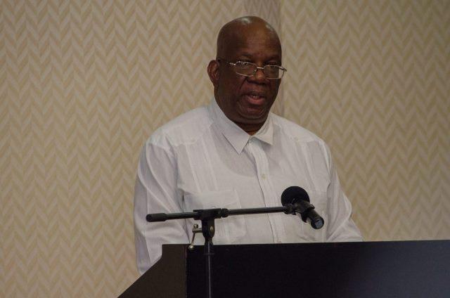 Minister of Finance, Hon. Winston Jordan.