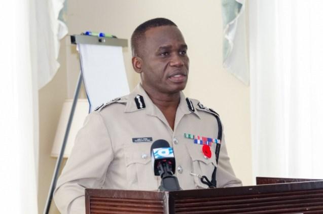 Commissioner of Police, Leslie James.