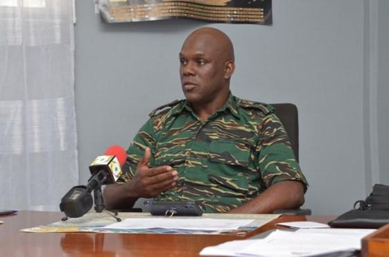 Director-General of the Civil Defence Commission, Lt. Col. Kester Craig.